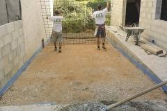 Réalisation d'une rampe circulable en béton armé sur Puyricard