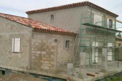 Construction, agrandissement habitation maconnée
