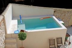 Bassin d'agrément réalisé à Aix-en-provence
