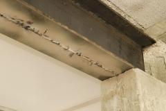 Profilé métallique, sous oeuvre, ouverture mur porteur