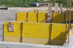 Sousbassement maison individuelle en voile béton pleine masse
